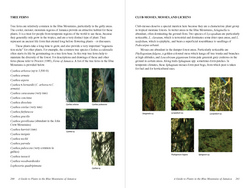 Interior sample for A Guide to Plants in the Blue Mountains of Jamaica