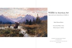 Interior sample for Wildlife in American Art: Masterworks from the National Museum of Wildlife Art
